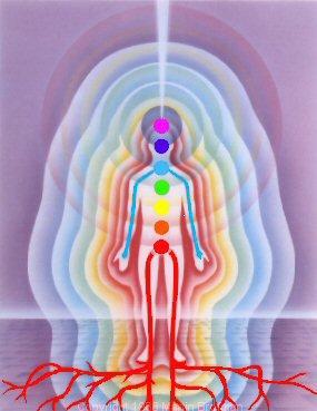 Os corpos vibracionais do homem oe da mulher
