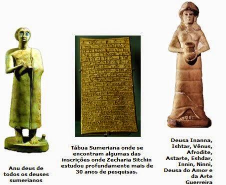 Resultado de imagem para as tabuas sumérias e a história bíblica dos nefilins